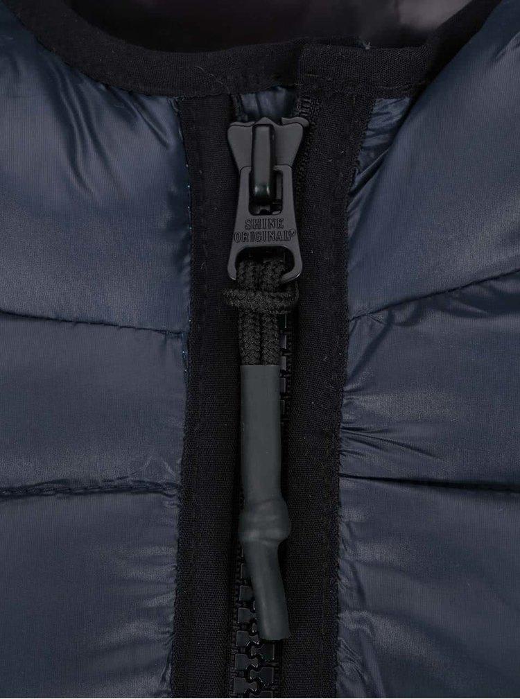Tmavomodrá bunda Shine Original Puffer