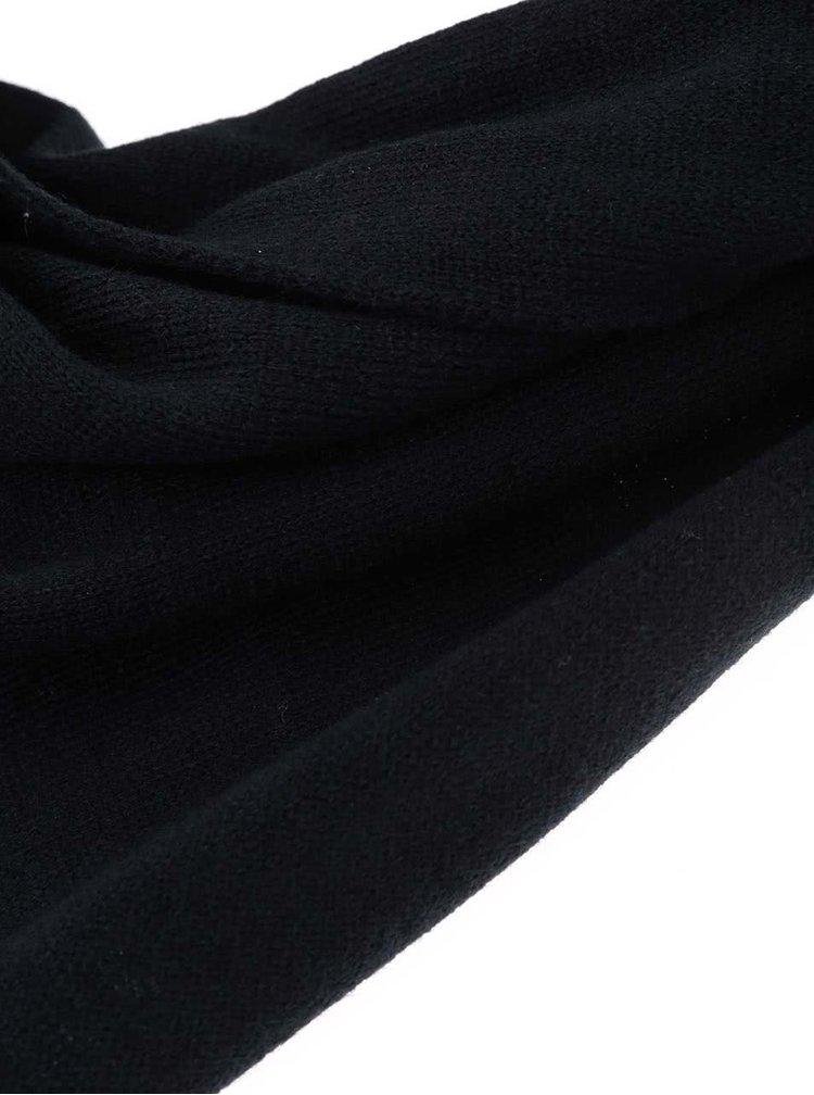 Černá šála Shine Original