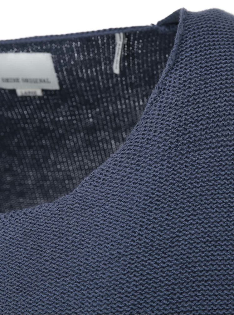 Modrý svetr Shine Original Reversed