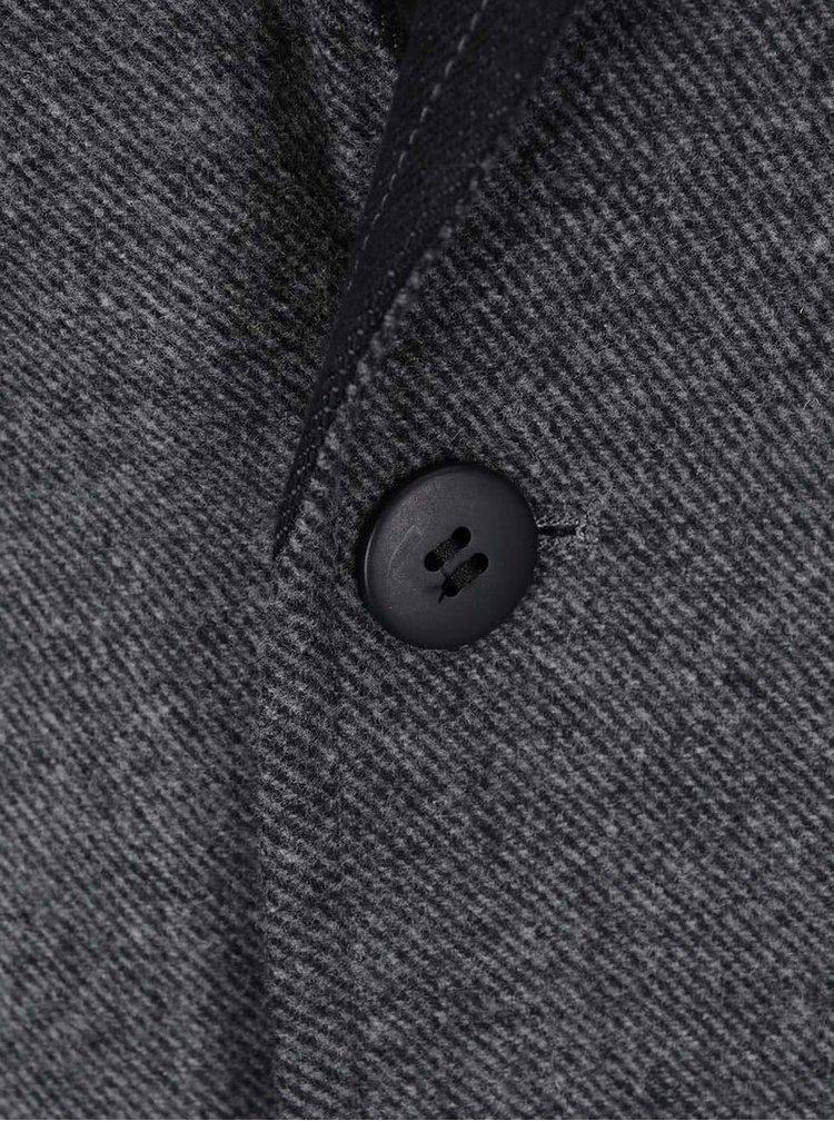 Sacou din tweed gri Shine Original