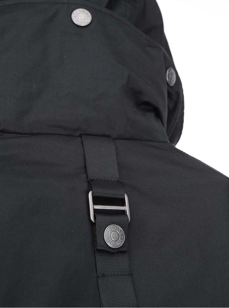Černá zimní bunda Shine Original