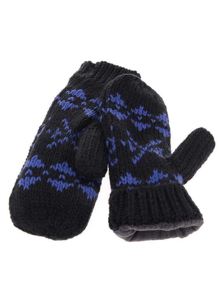 Modro-černý dámský zimní set Horsefeathers Naomi