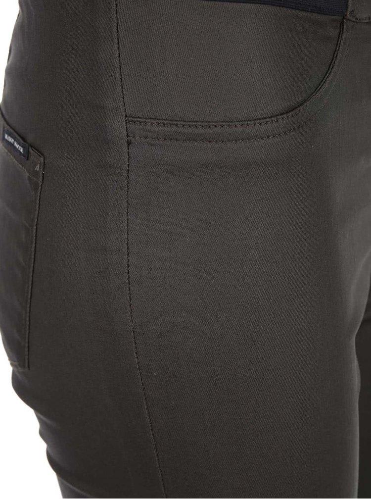 Khaki úzké kalhoty Maison Scotch