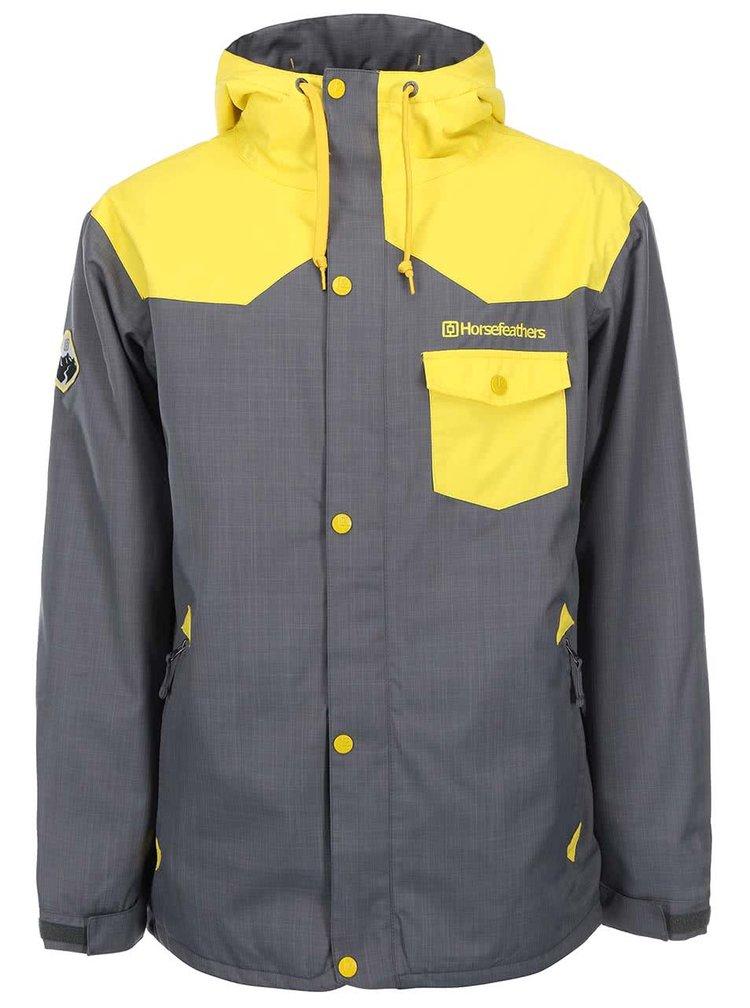 Žlto-sivá pánska bunda Horsefeathers Paul