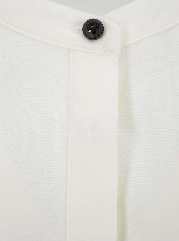 Krémová košile s černými detaily Maison Scotch