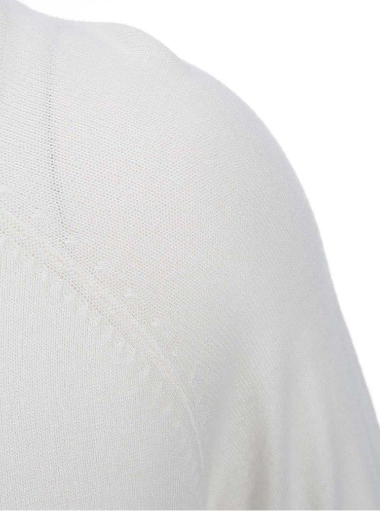 Krémový dlouhý svetr ONLY Mila