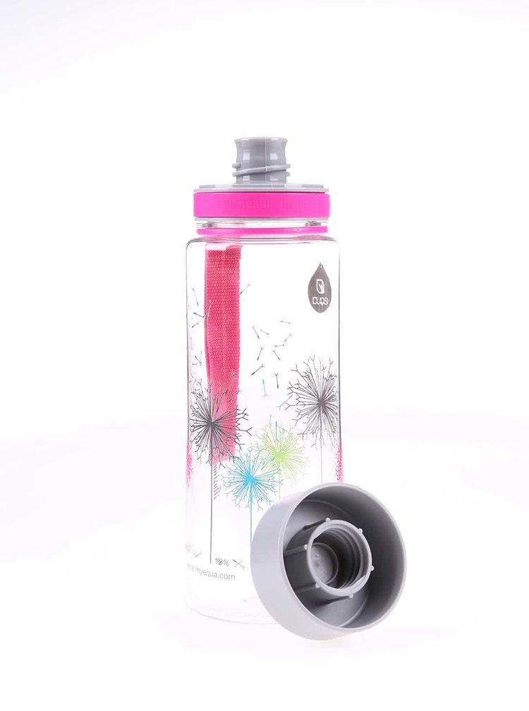 Plastová láhev s motivem pampelišek EQUA (600 ml)