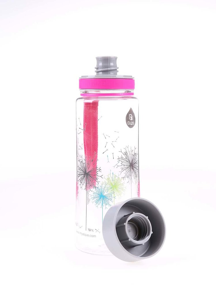 Plastová lahev s motivem pampelišek EQUA (600 ml)