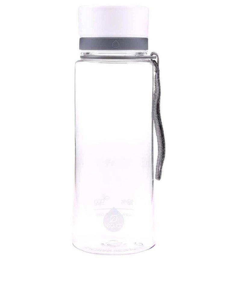 Plastová láhev s bílým uzávěrem EQUA (600 ml)