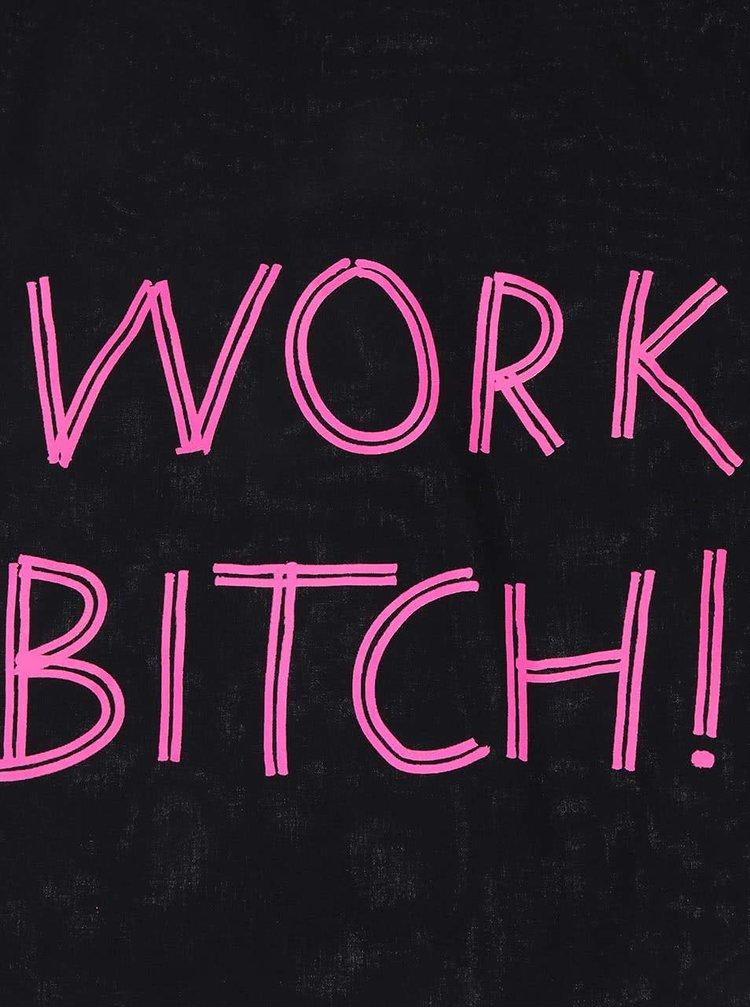Černý plátěný vak ZOOT Originál Work Bitch