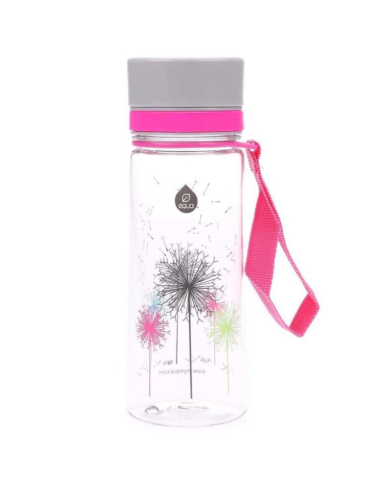 Malá plastová lahev s motivem pampelišek EQUA (400 ml)