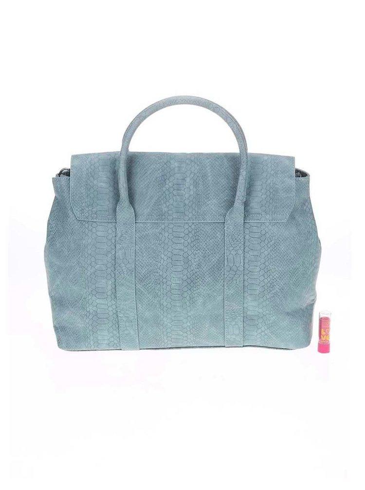 Světle zelená kabelka Pieces Velvet