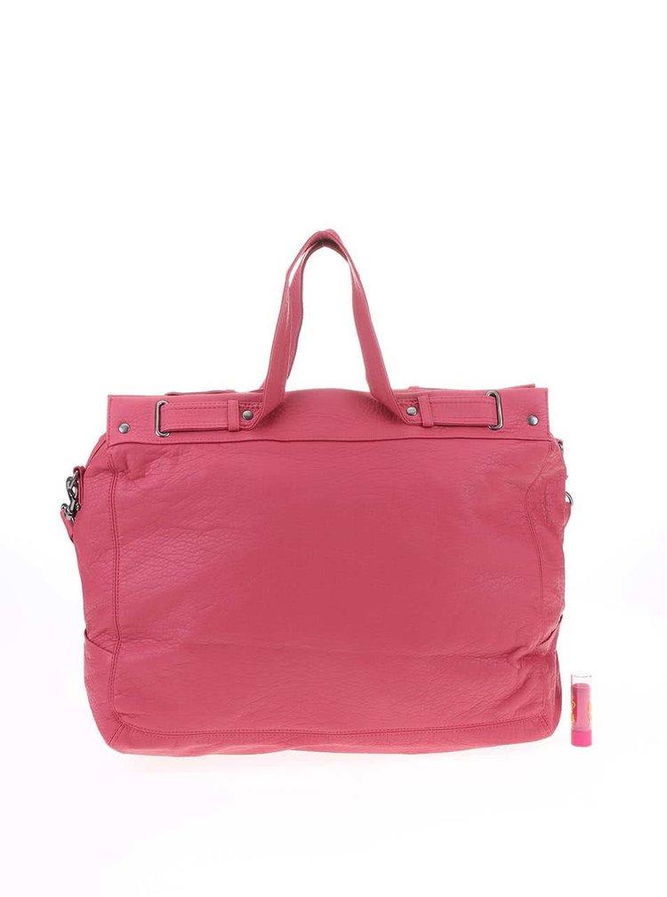 Ružová väčšia kabelka Roxy Gleefully