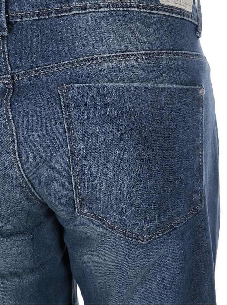 Jeanși skinny cu rupturi în genunchi ONLY Coral - albaștri