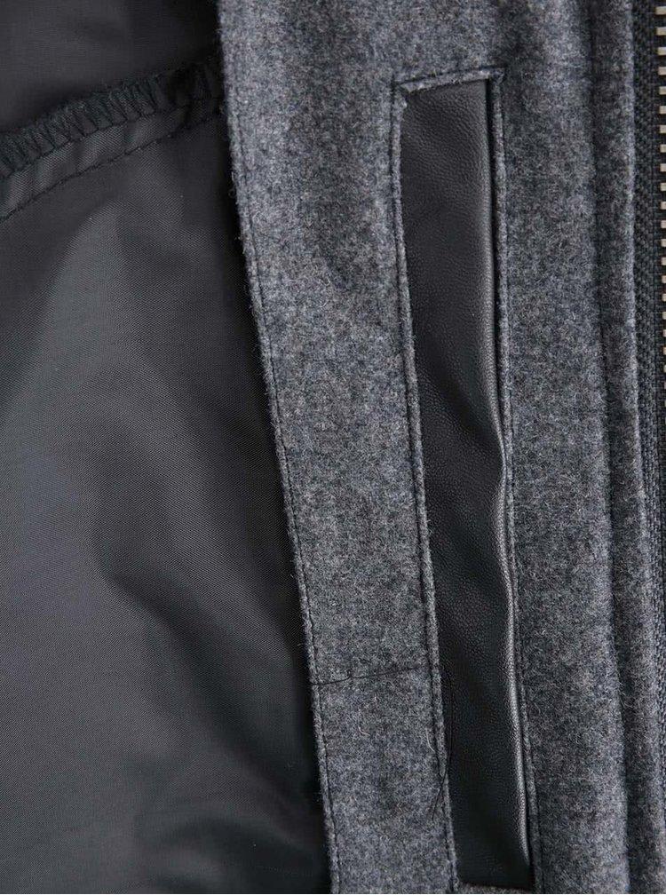 Jachetă în combinația gri și negru de la Lindbergh