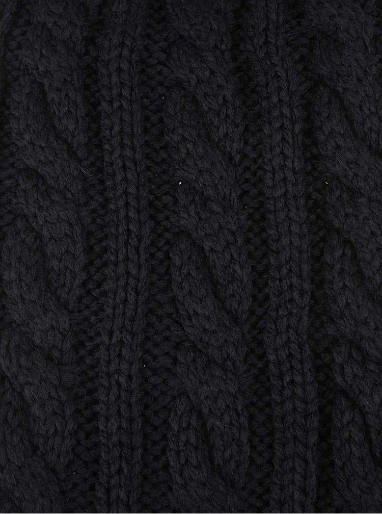 Čierny dlhý šál Selected Jim