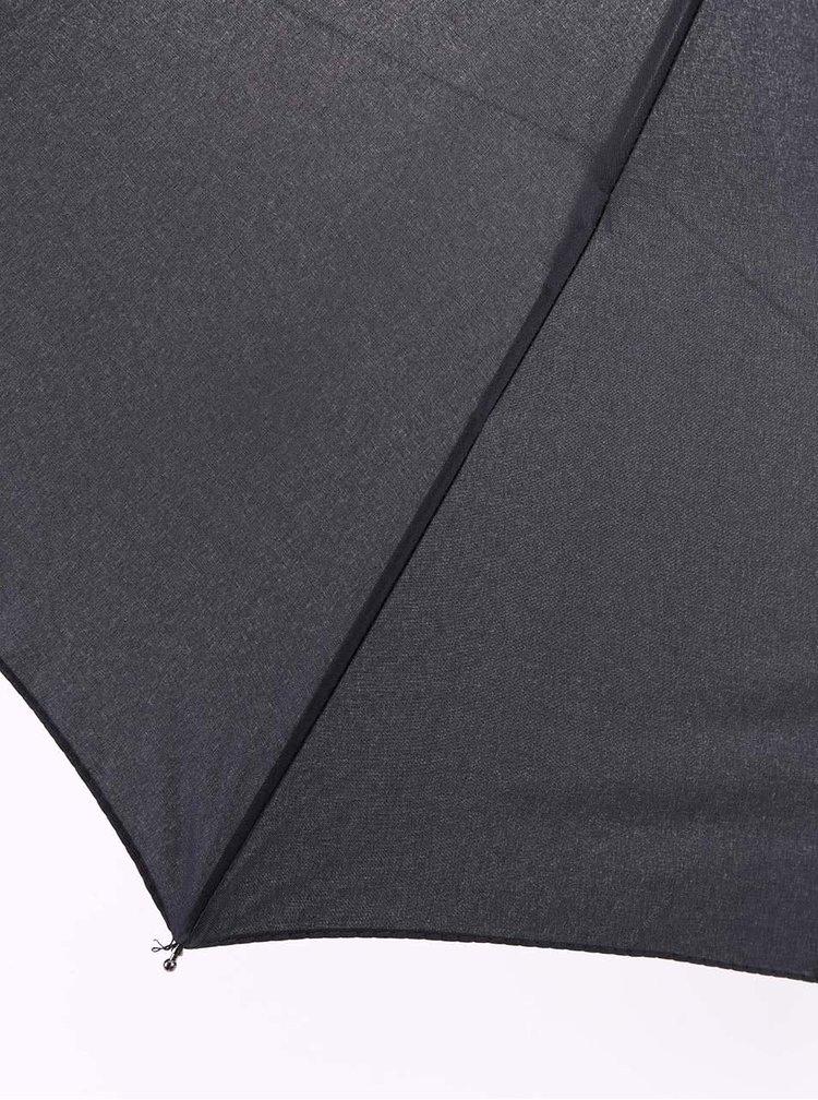 Černý vystřelovací deštník Derby