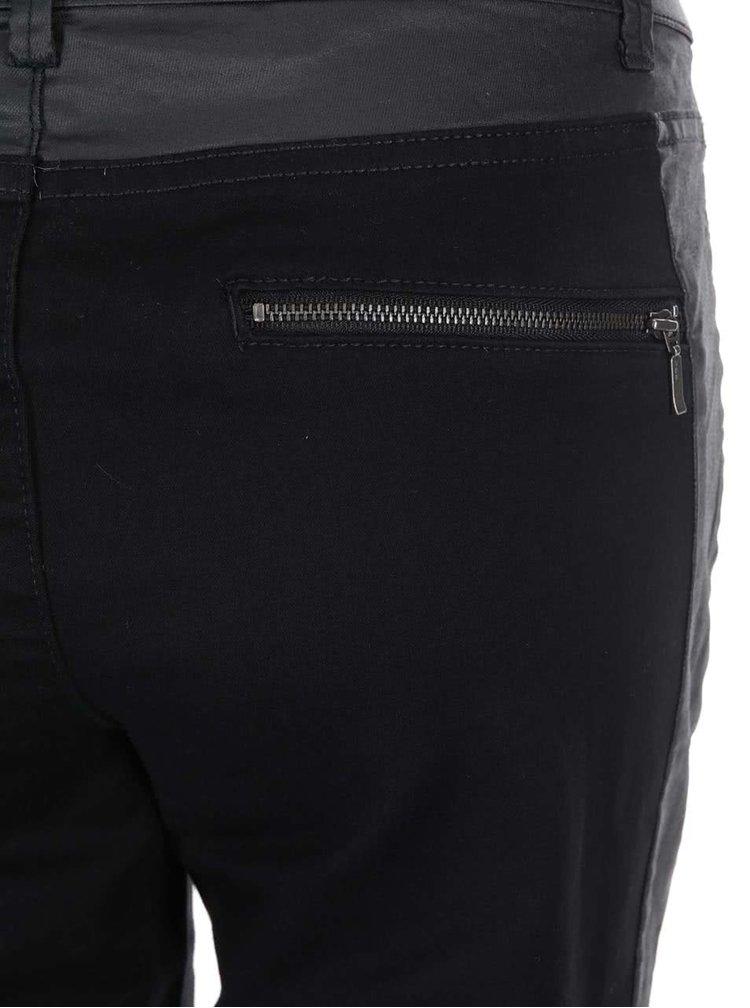Černé slim kalhoty Noisy May Faluna