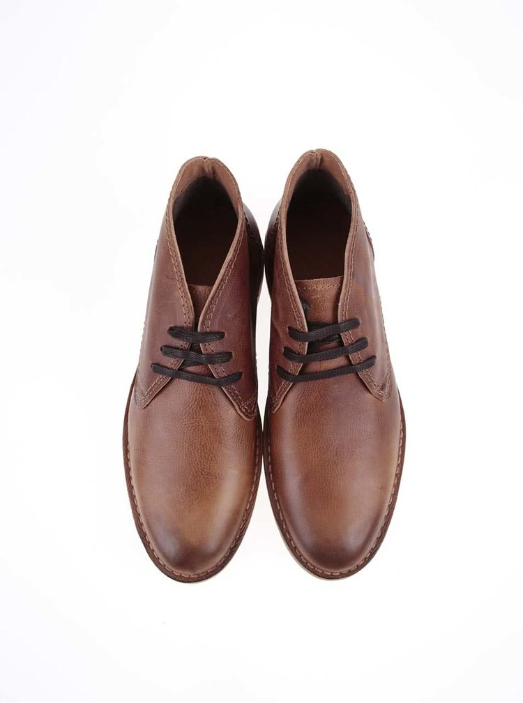Botine maro Selected Royce