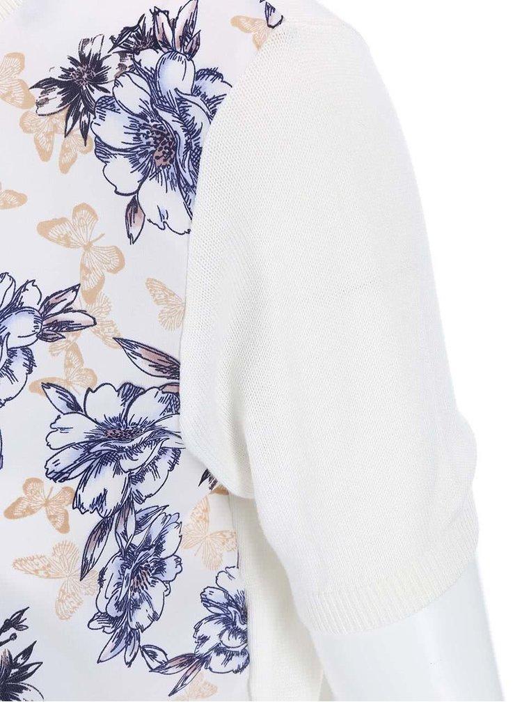 Krémová kvetovaná blúzka Dorothy Perkins