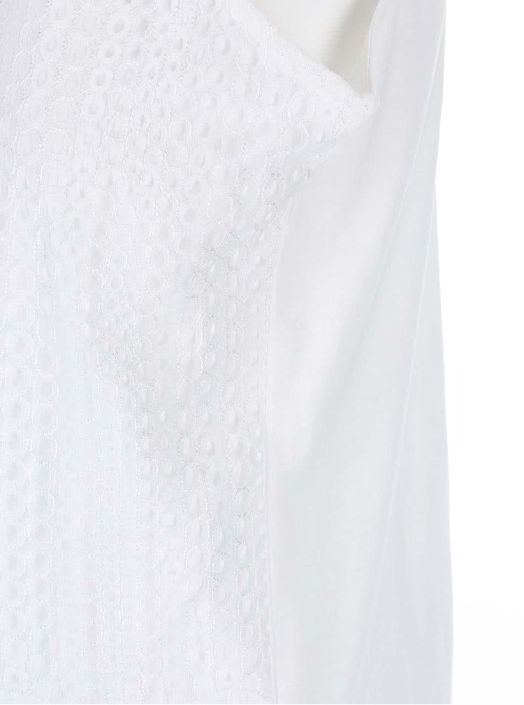 Bluza din dantela Dorothy Perkins - alb
