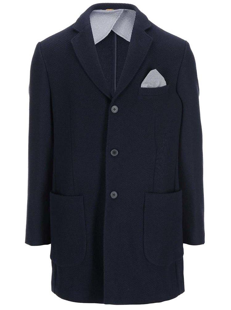Tmavomodrý kabát Selected Napoli