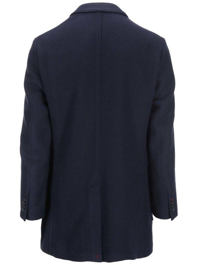 Tmavě modrý kabát Selected Napoli