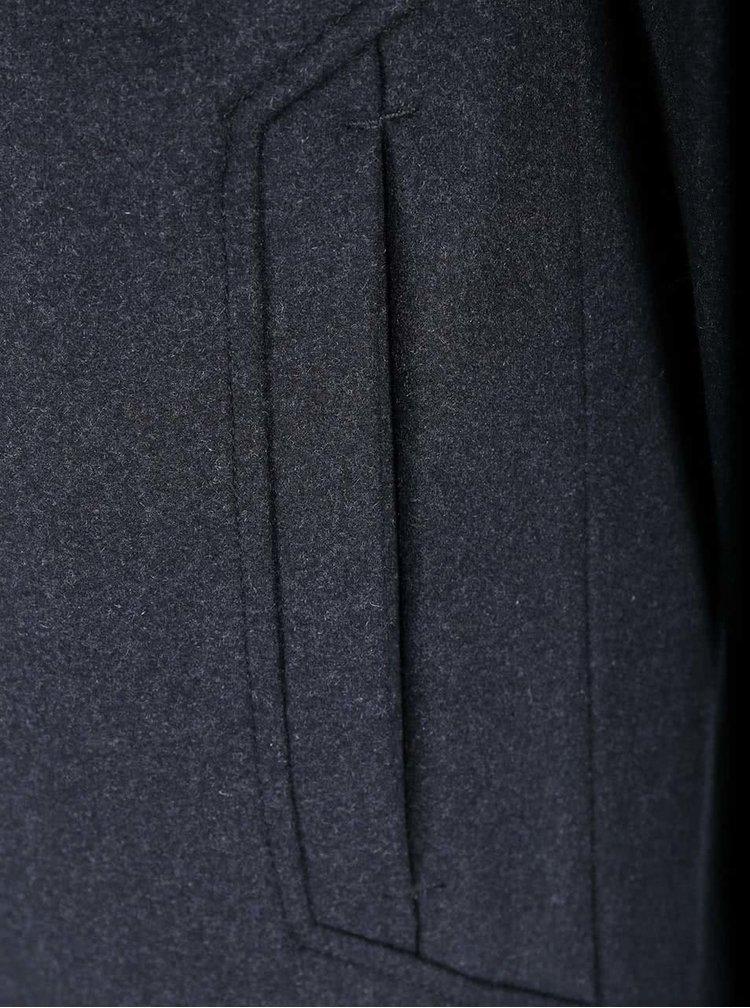 Tmavosivý kabát Selected Hover