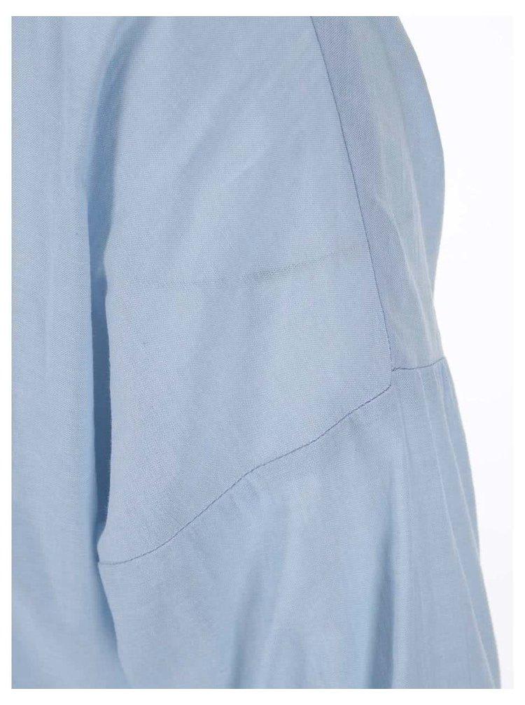 Světle modrá košile s rozparky VERO MODA Classic