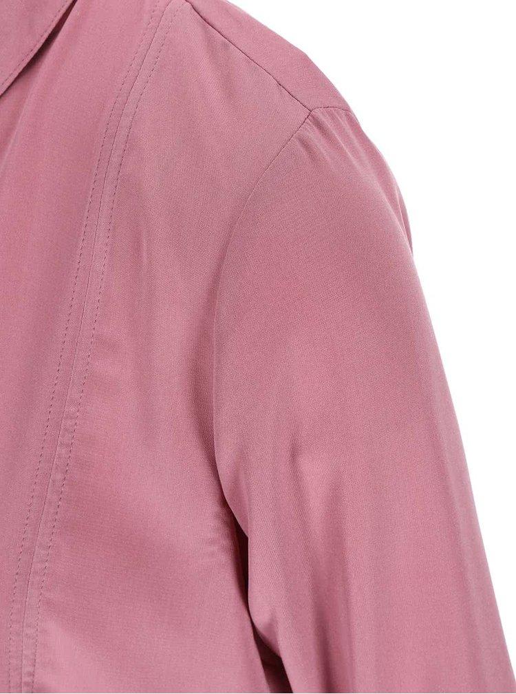 Růžová halenka s knoflíky ONLY Smilla