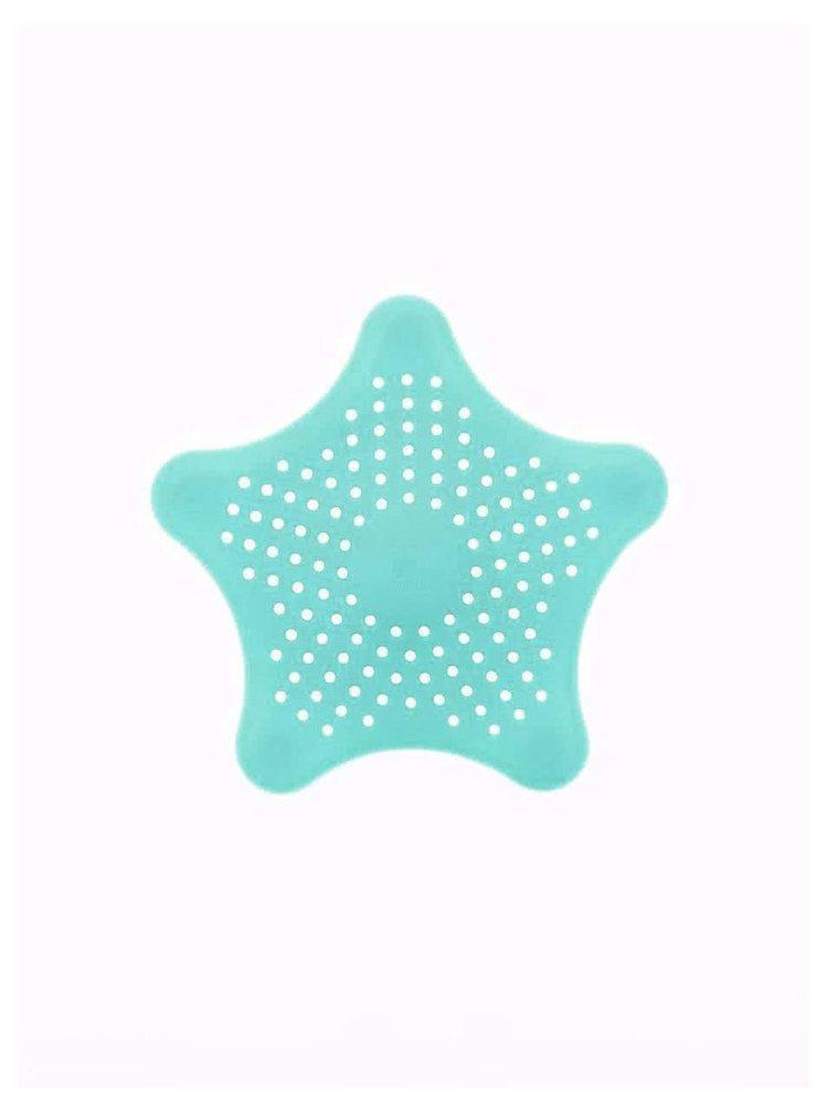 Tyrkysové sítko do sprchy Umbra Starfish