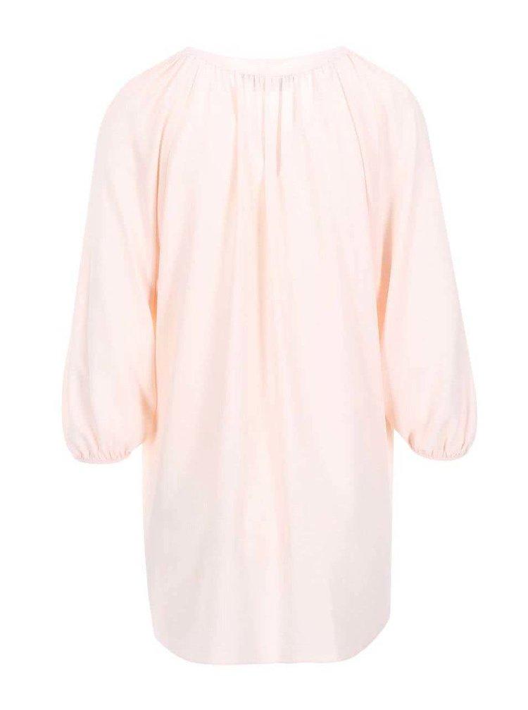 Bluza cu maneci 3/4 Dorothy Perkins - culoarea caisei