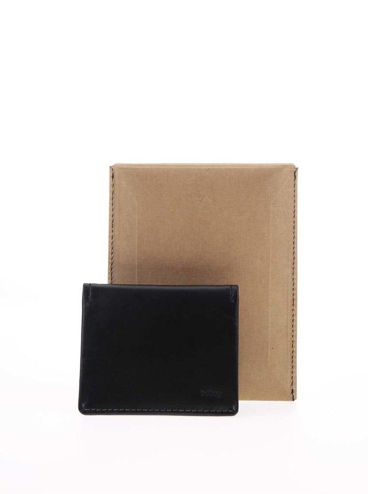 Čierna pánska kožená peňaženka Bellroy Slim Sleeve