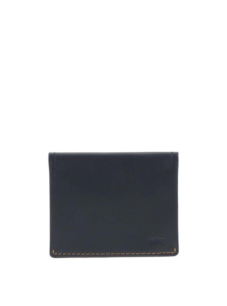 Tmavě modrá kožená peněženka Bellroy Slim Sleeve