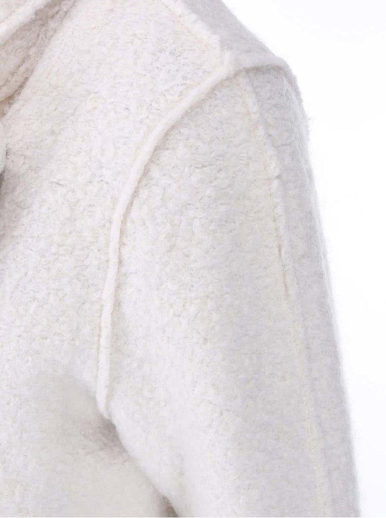 Krémový kabát ICHI Tinju