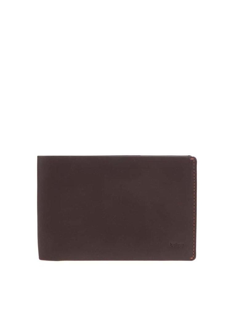 Hnědá kožená cestovní peněženka Bellroy Travel