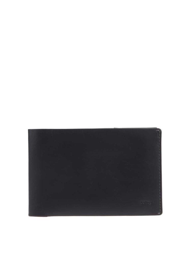 Černá kožená cestovní peněženka Bellroy Travel