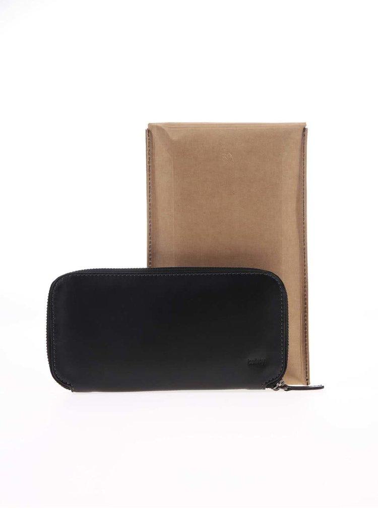 Portofel negru din piele 2 in 1 unisex Bellroy Carry Out