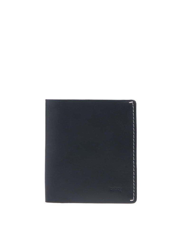 Tmavě modrá kožená peněženka Bellroy Note Sleeve