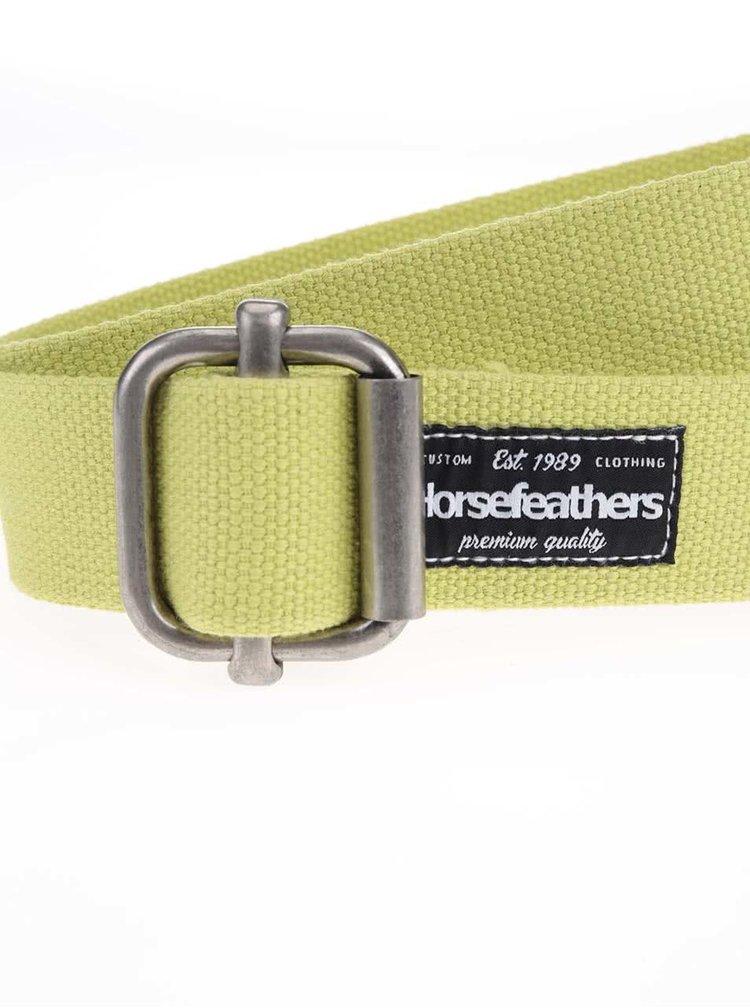 Žlutý dámský pásek Horsefeathers Georgia