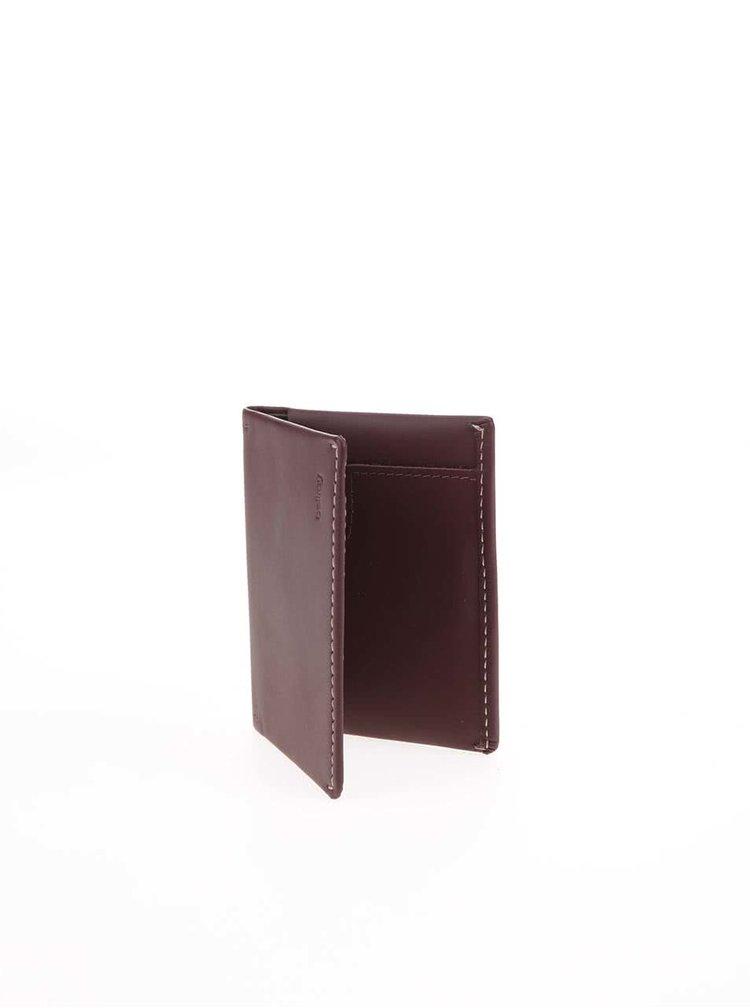 Hnedá vrecková peňaženka Bellroy Slim Sleeve
