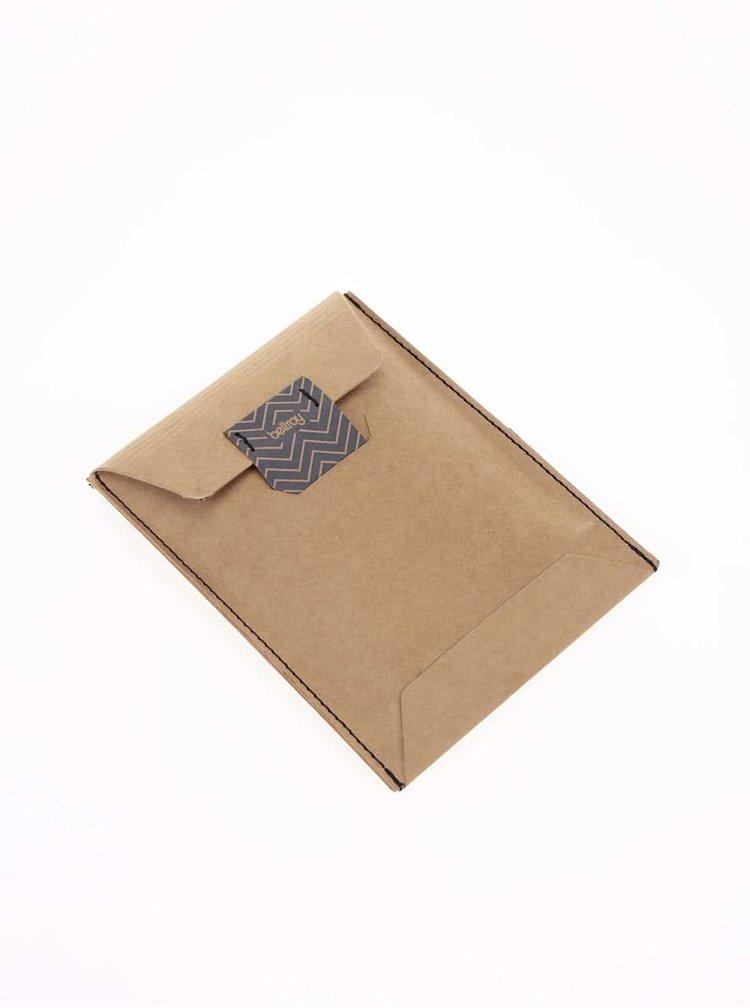 Portofel de piele Bellroy Slim Sleeve - maro-închis
