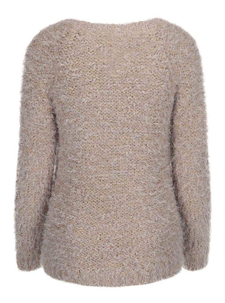 Béžový sveter VERO MODA Elsie