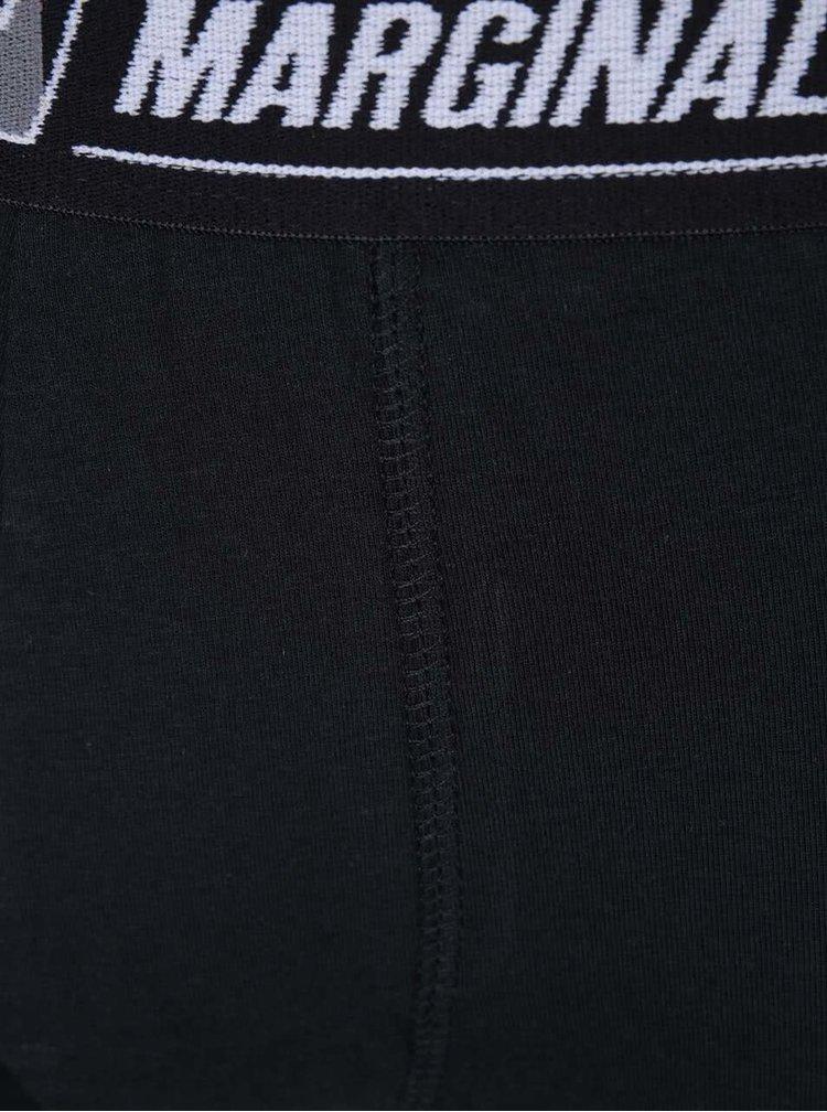 Sada dvoch boxeriek v tmavomodrej a čiernej farbe Marginal