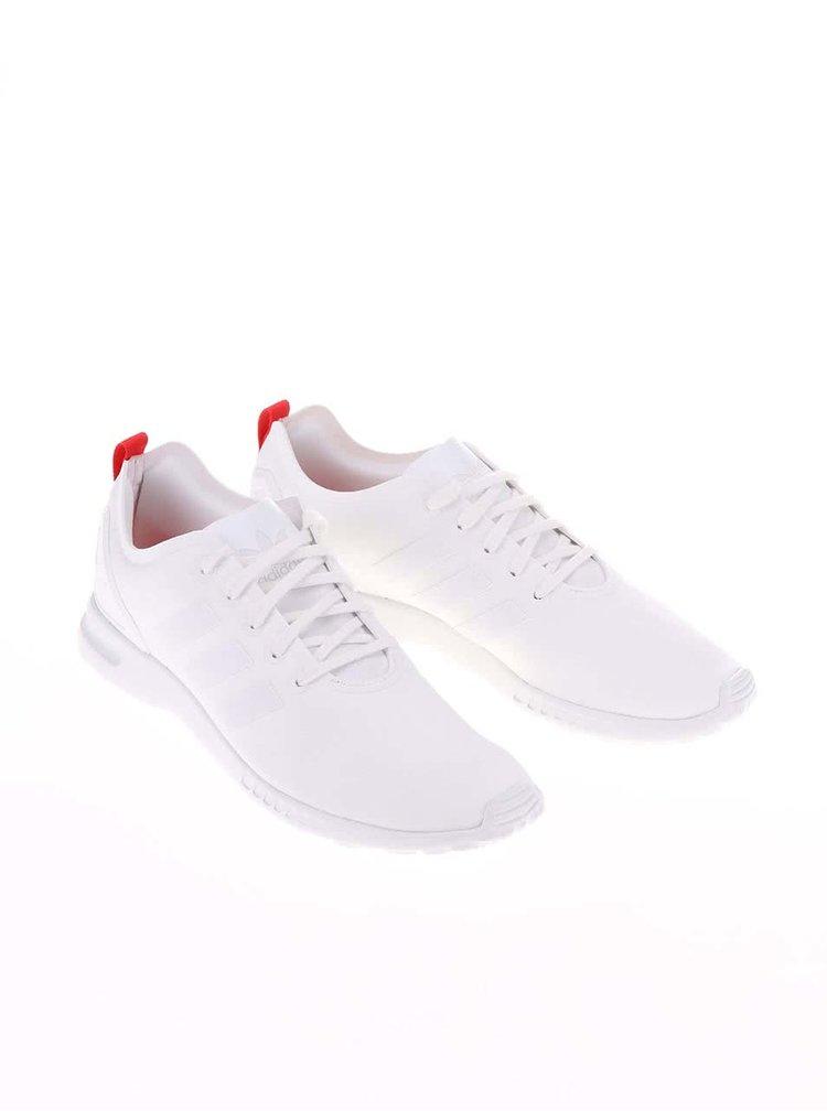 Biele dámske tenisky adidas Originals ZX Flux