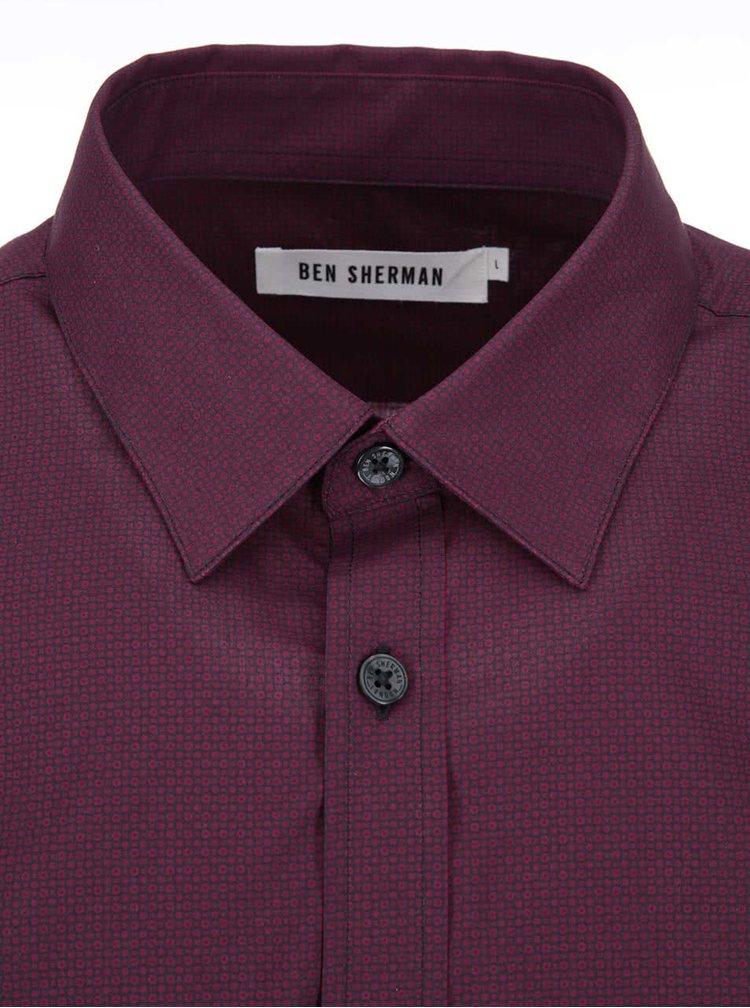 Cămașă violet de la Ben Sherman