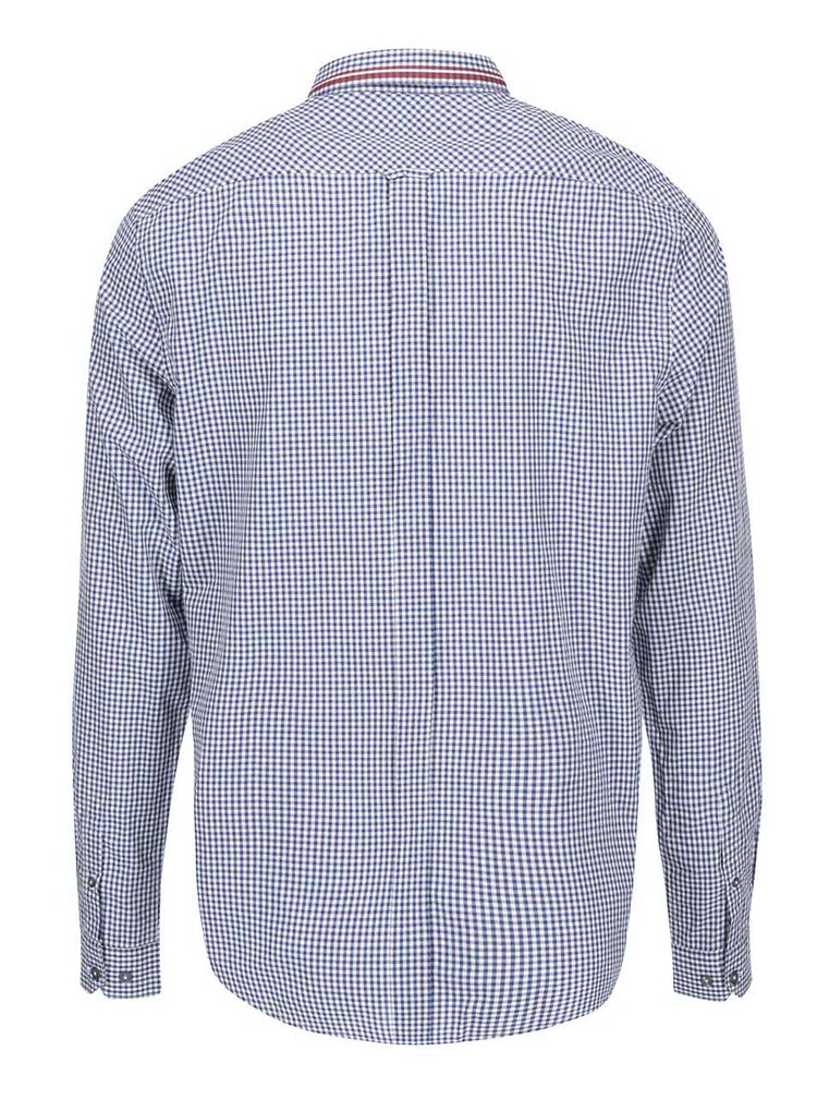 Modrá kostkovaná košile Ben Sherman