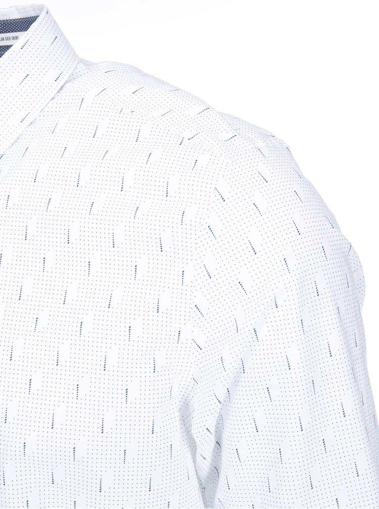 Cămașă de la Ben Sherman, cu buline - albă