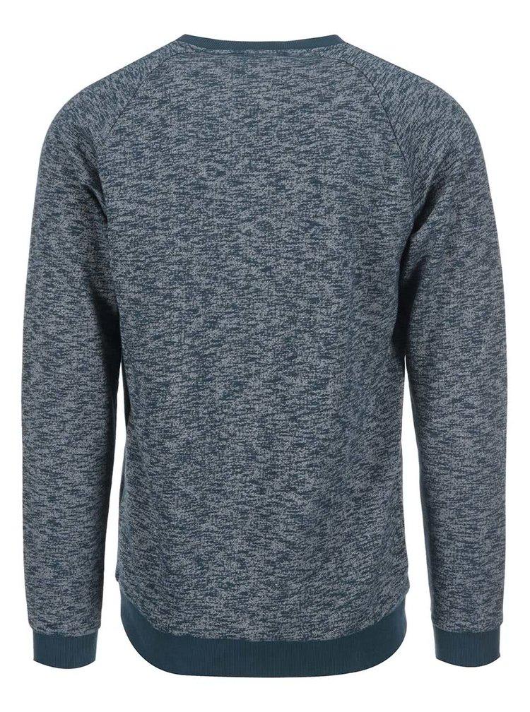 Modrozelený žíhaný sveter ONLY & SONS Abel