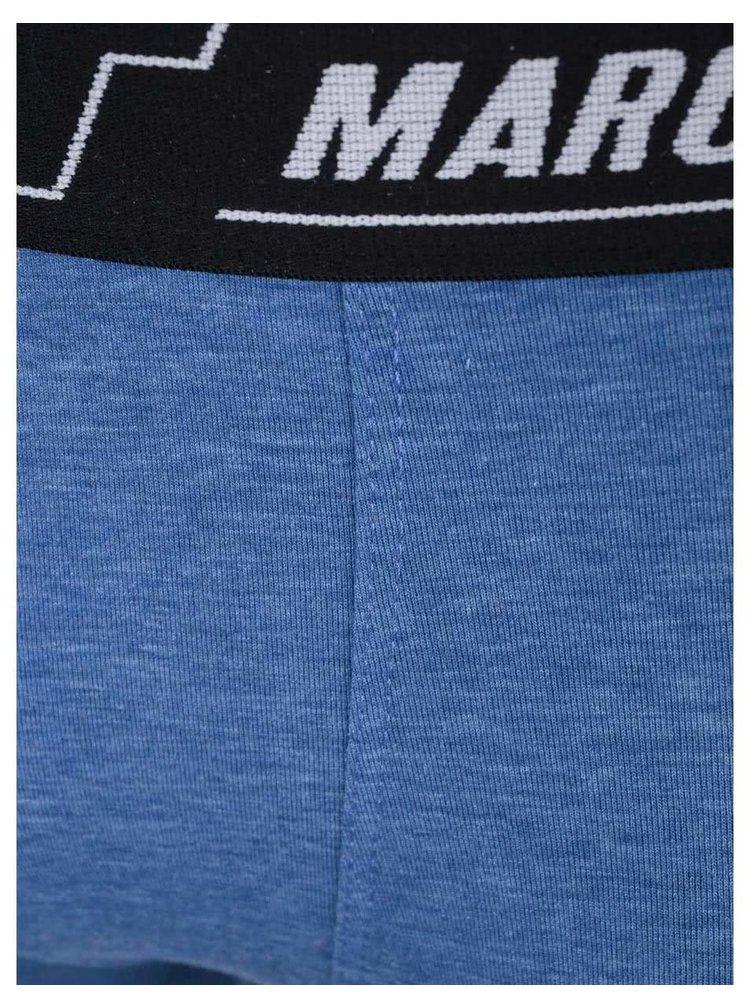 Set de doua perechi de boxeri albastri si rosi de la Marginal